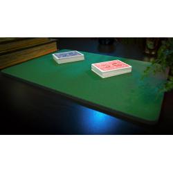 Tapis de cartes 28cm X 40cm Deluxe (Vert) wwww.jeux2cartes.fr