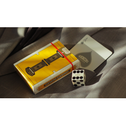 Gemini Casino Yellow Playing Cards by Gemini wwww.jeux2cartes.fr
