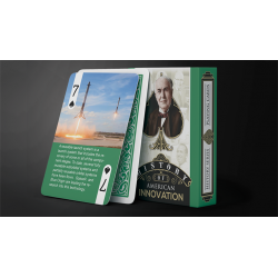 History Of American Innovation Playing Cards wwww.jeux2cartes.fr
