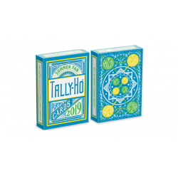 Tally Ho Fan Back Summer Playing Cards wwww.jeux2cartes.fr