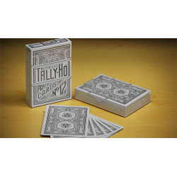 Limited Edition Tally-Ho Masterclass (White) Playing Cards wwww.jeux2cartes.fr