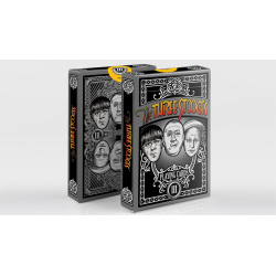 The Three Stooges Playing Cards wwww.jeux2cartes.fr