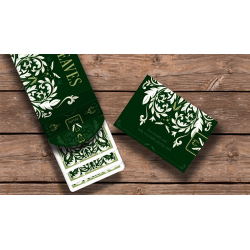 Leaves Playing Cards by Dutch Card House Company wwww.jeux2cartes.fr