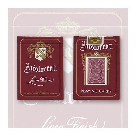 Bicycle Aristocrat 727 Bank Note Cards (Red) by USPCC wwww.jeux2cartes.fr