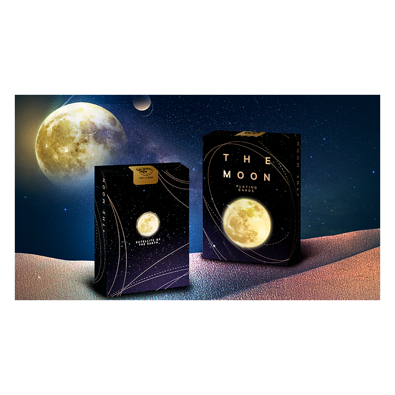 The Moon Playing Cards by Bocopo wwww.jeux2cartes.fr