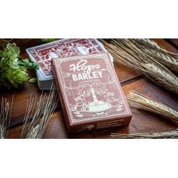 Hops & Barley (Deep Amber Ale) Playing Cards by JOCU Playing Cards wwww.jeux2cartes.fr