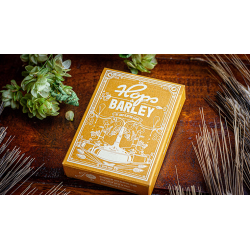 Hops & Barley (Pale Gold Pilsner) Playing Cards by JOCU Playing Cards wwww.jeux2cartes.fr