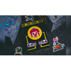 Pixel Clown Playing Cards wwww.jeux2cartes.fr