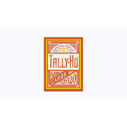 Tally-Ho Autumn Circle Back Playing Cards wwww.jeux2cartes.fr