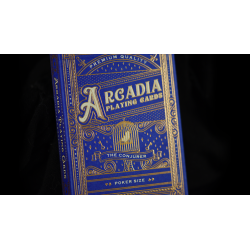 The Conjurer Playing Cards (Blue) by Arcadia Playing Cards wwww.jeux2cartes.fr