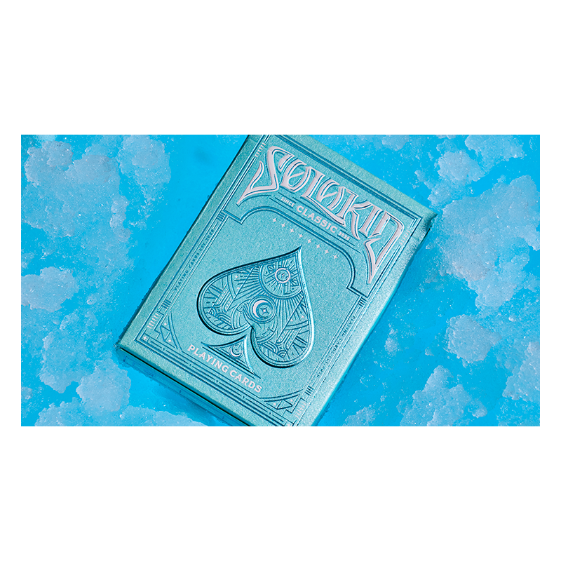Solokid Cyan Playing Cards by Bocopo wwww.jeux2cartes.fr