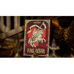 King Arthur (Carmine Cavalier) Playing Cards by Riffle Shuffle wwww.jeux2cartes.fr