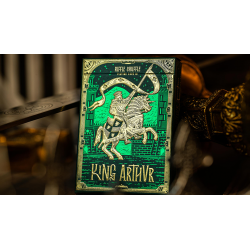 King Arthur (Emerald Saga) Playing Cards by Riffle Shuffle wwww.jeux2cartes.fr