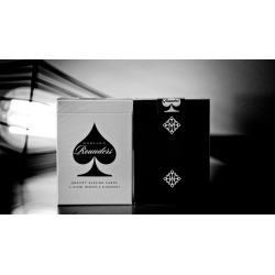Rounders (Black) Playing Cards wwww.jeux2cartes.fr