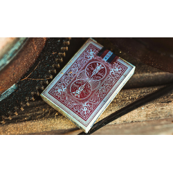 Bicycle 1900 Red Playing Cards wwww.jeux2cartes.fr