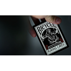Bicycle Black Tiger Red Playing Cards wwww.jeux2cartes.fr