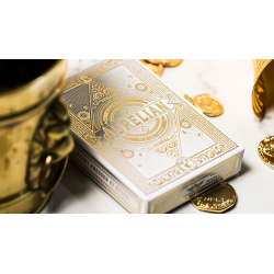 White Aurelians Playing Cards wwww.jeux2cartes.fr
