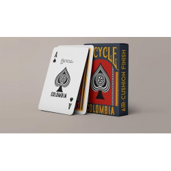 Bicycle Colombia Playing Cards wwww.jeux2cartes.fr