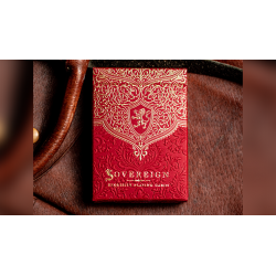 Sovereign STD Red Playing Cards by Jody Eklund wwww.jeux2cartes.fr