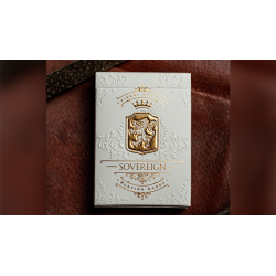 Sovereign (White) Exquisite Playing Cards by Jody Eklund wwww.jeux2cartes.fr