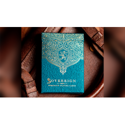 Sovereign STD Blue Playing Cards by Jody Eklund wwww.jeux2cartes.fr