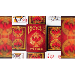 Bicycle Fyrebird Playing Cards wwww.jeux2cartes.fr