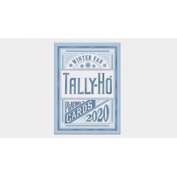 Tally-Ho Winter Fan Playing Cards wwww.jeux2cartes.fr