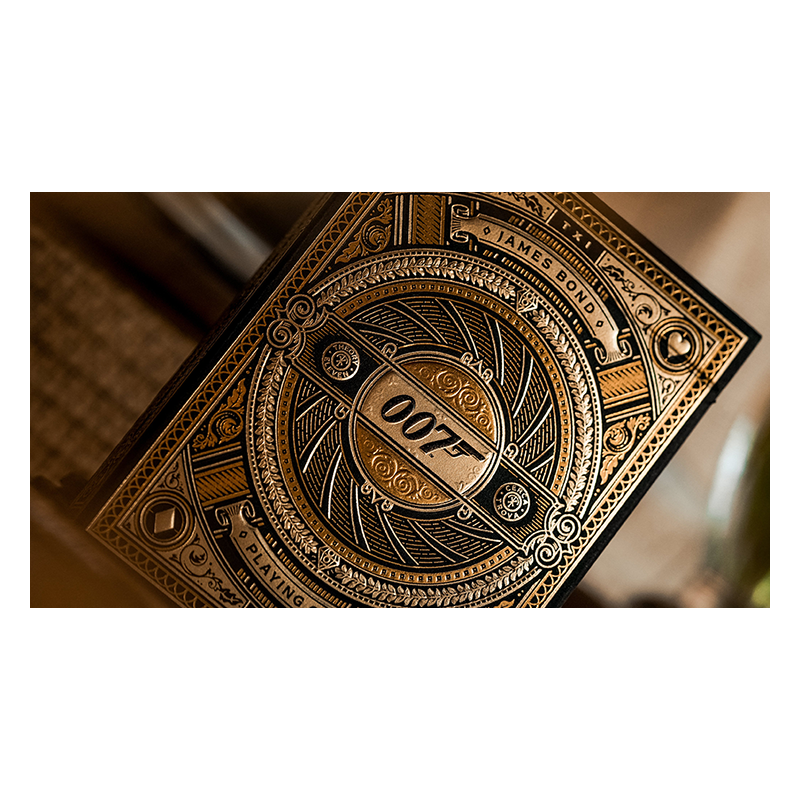 James Bond 007 Playing Cards by theory11 wwww.jeux2cartes.fr