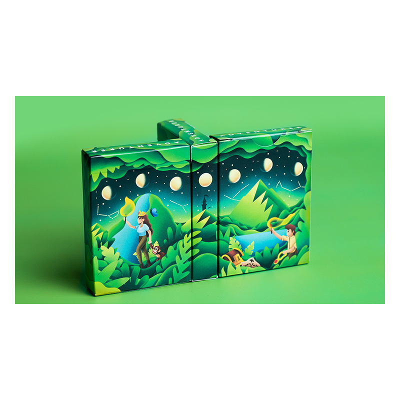 Adventure Playing Cards by Riffle Shuffle wwww.jeux2cartes.fr