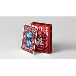 Edo Karuta (Red) Playing Cards wwww.jeux2cartes.fr