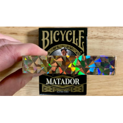 Bicycle Matador (Black Gilded) Playing Cards wwww.jeux2cartes.fr
