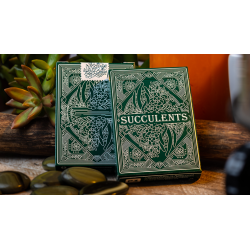Succulents Playing Cards wwww.jeux2cartes.fr
