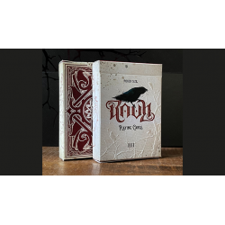RAVN IIII (Red) Playing Cards Designed by Stockholm17 wwww.jeux2cartes.fr