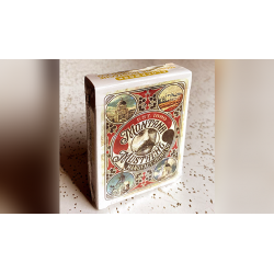 Clockwork: Montana Mustache Manufacturing Co. Playing Cards by fig 23 wwww.jeux2cartes.fr