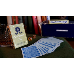 Blue Ribbon Playing Cards (Blue) wwww.jeux2cartes.fr
