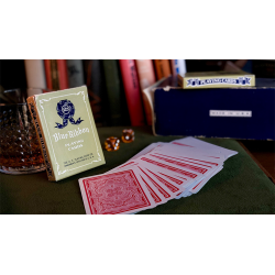 Blue Ribbon Playing Cards (Red) wwww.jeux2cartes.fr