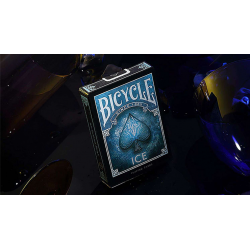 Bicycle Ice Playing Cards by US Playing Cards wwww.jeux2cartes.fr