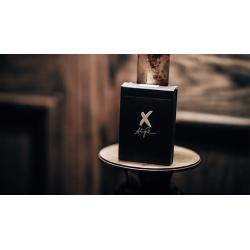 X Deck (Black) Playing Cards by Alex Pandrea wwww.jeux2cartes.fr