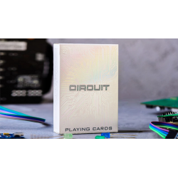 Circuit (White) Playing Cards by Elephant Playing Cards wwww.jeux2cartes.fr