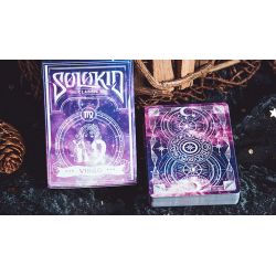 Solokid Constellation Series V2 (Virgo) Playing Cards by BOCOPO wwww.jeux2cartes.fr