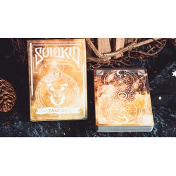 Solokid Constellation Series V2 (Taurus) Playing Cards by BOCOPO wwww.jeux2cartes.fr