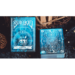 Solokid Constellation Series v2 (Pisces) Playing Cards by BOCOPO wwww.jeux2cartes.fr
