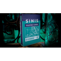 Sinis (Turquoise) Playing Cards by Marc Ventosa wwww.jeux2cartes.fr