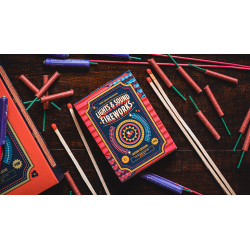 Fireworks Playing Cards by Riffle Shuffle wwww.jeux2cartes.fr