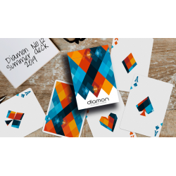 Diamon Playing Cards N° 12 Summer 2019 Playing Cards by Dutch Card House Company wwww.jeux2cartes.fr