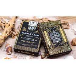 The Turtle Club Playing Cards wwww.jeux2cartes.fr