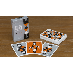 Retro Deck (Gray) Playing Cards wwww.jeux2cartes.fr