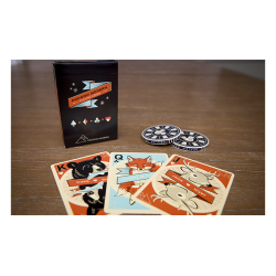 Woodland (black) Playing Cards wwww.jeux2cartes.fr
