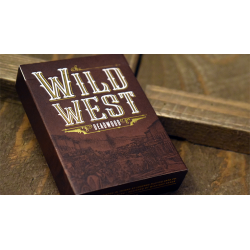 WILD WEST: Deadwood Playing Cards wwww.jeux2cartes.fr