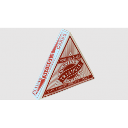 Triangle (Red) Playing Cards wwww.jeux2cartes.fr